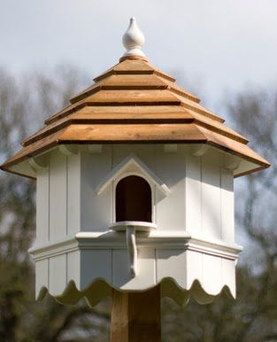 A dovecot(e) is a building intended to house doves or pigeons. They have been made in a variety of shapes and styles over the centuries, b...