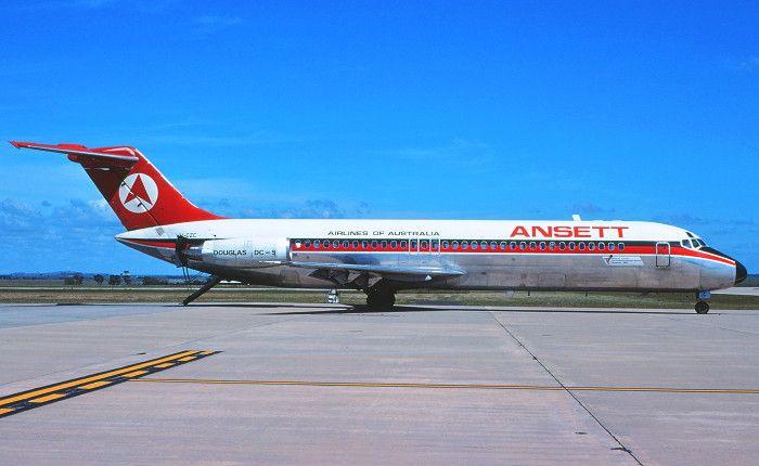 Ansett Airlines Of Australia McDonnell Douglas DC-9-30 (VH-CZC)