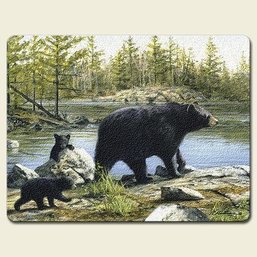 Log Cabin Black Bear Decor   Google Search
