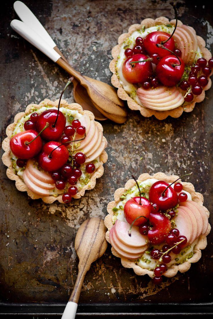 Stone Fruit Tarts