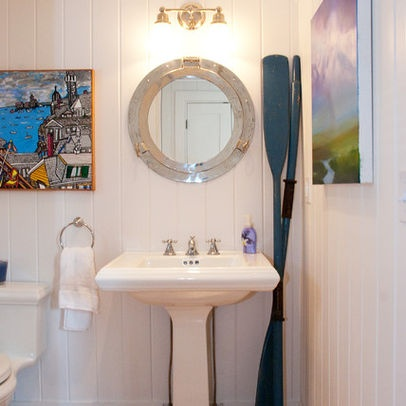 Nautical Bathroom Mirrors Design Ideas, Pictures, Remodel, And Decor Part 35