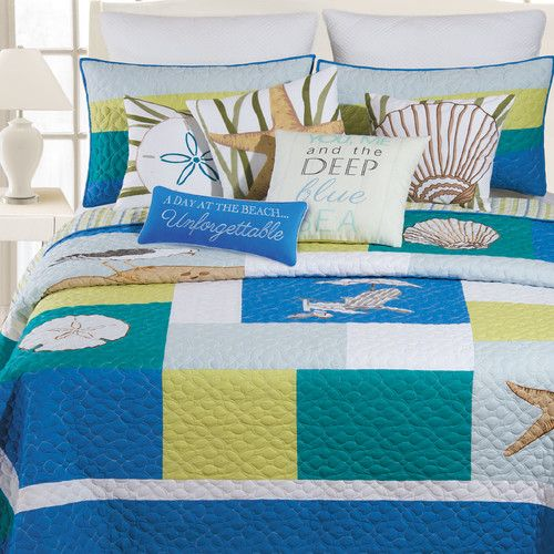 Found it at Wayfair - Oasis Quilt Collection