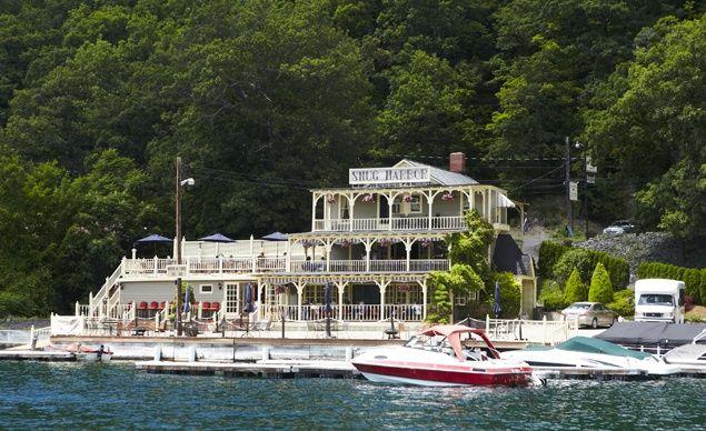 Snug Harbor Inn on Lake Keuka in Hammondsport, N.Y. (From: Photos: Coolest Small Towns 2012)