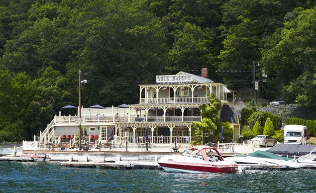 Snug Harbor Inn on Lake Keuka in Hammondsport, N.Y. (From: Photos: Coolest Small Towns 2012)