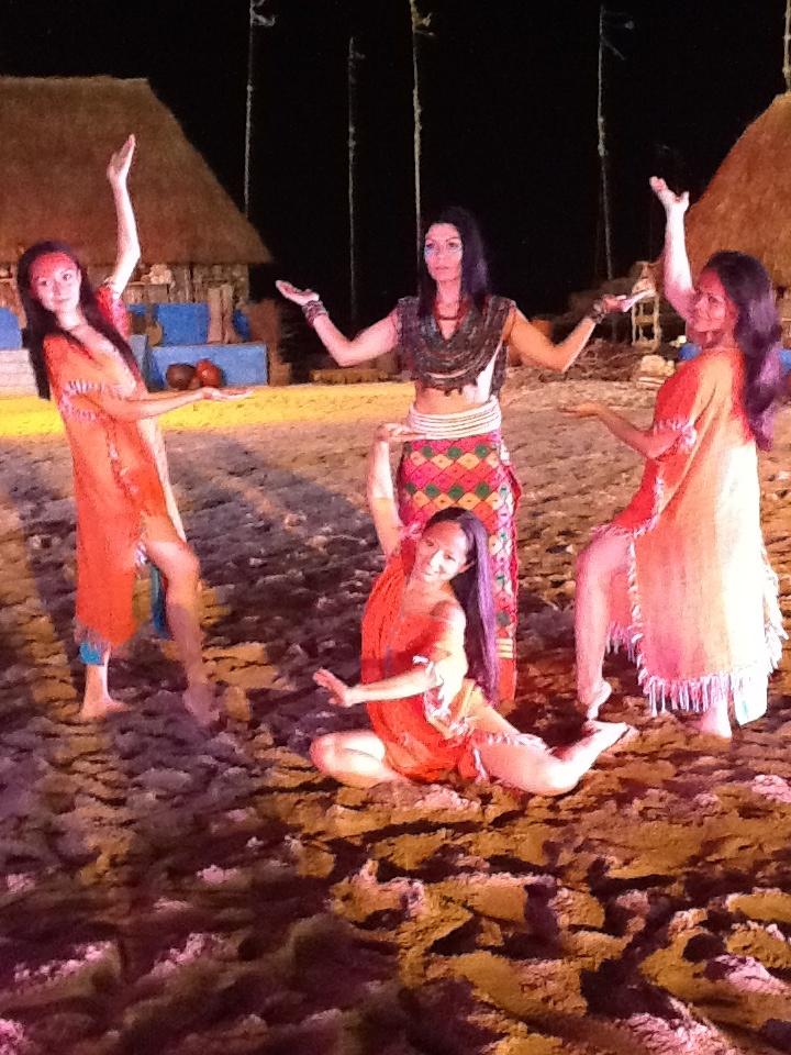 Representación de la Diosa Ixchel Travesía Sagrada Maya 2013
