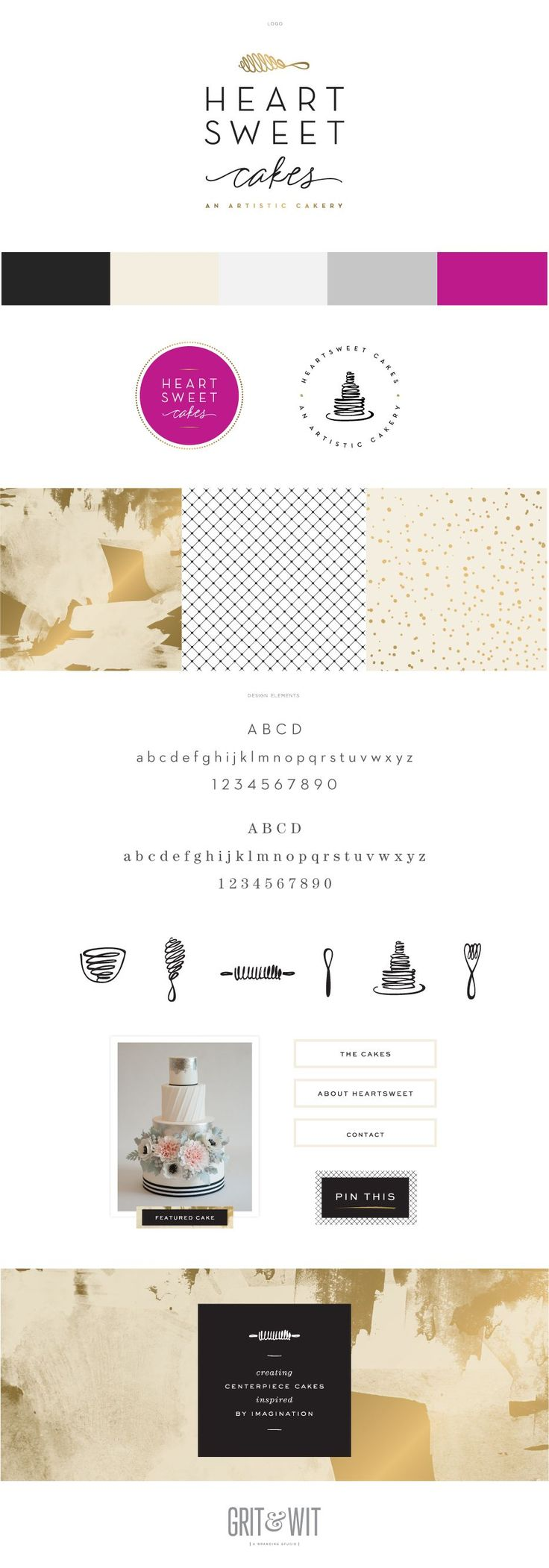 Branding and website design by the kind and talented Ann Parker with Grit & Wit!