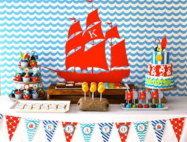 cumpleaños jake y los piratas 1