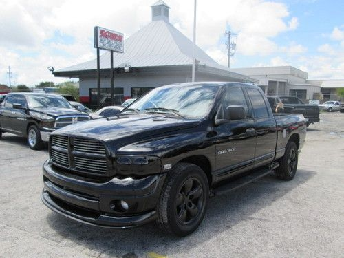 All-Black Ram 1500 | 2004 Dodge Ram 1500 Hemi 5.7 SLT Crew Cab~Must Sell~Buy It Now~, US $ ...