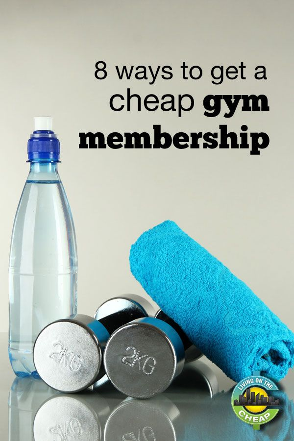 Going to the gym doesn't have to be expensive! Here are 8 ways to get a cheap gym membership without breaking the bank.  Who says cheap workouts don't work just as well as pricey ones to get you healthy!