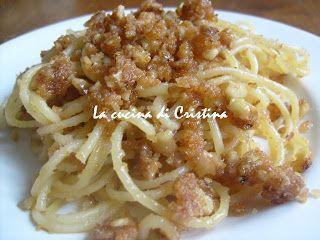 Pasta con noci e zucchero - Macaroane cu nuci si zahar