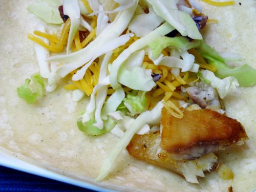 Baked tilapia fish tacos recipe baked fish cooking for How to cook fish tacos