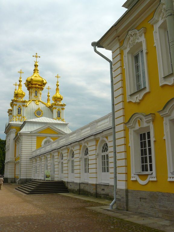 The Russian Palace by the sea, Peterhof, a beautiful day trip from St. Petersburg.