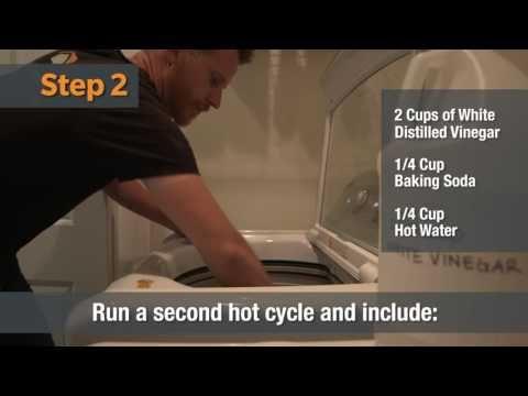 Deep Clean the Washing Machine | Home Hacks - YouTube