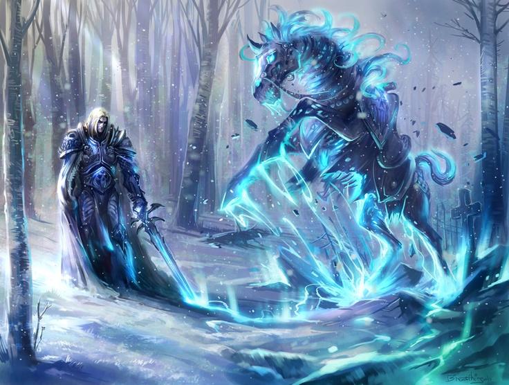 Arthas resurrecting Invincible
