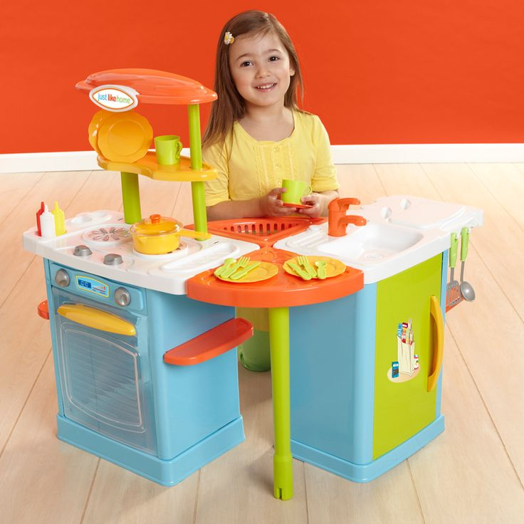 Kitchen Set Toys R Us: Just Like Home Mix And Match Kitchen