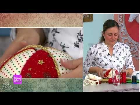Espazio Ideal Muñeco de Navidad con Luces 17 de octubre 2014 Telecafé - YouTube