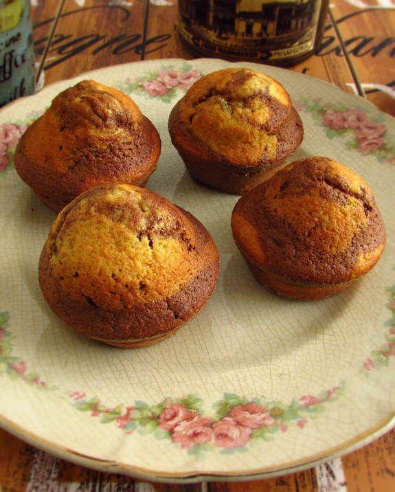 Queques de baunilha e chocolate | Food From Portugal