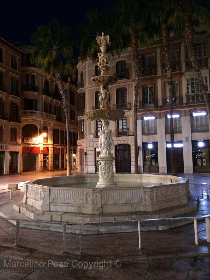 Font at Constitución Square