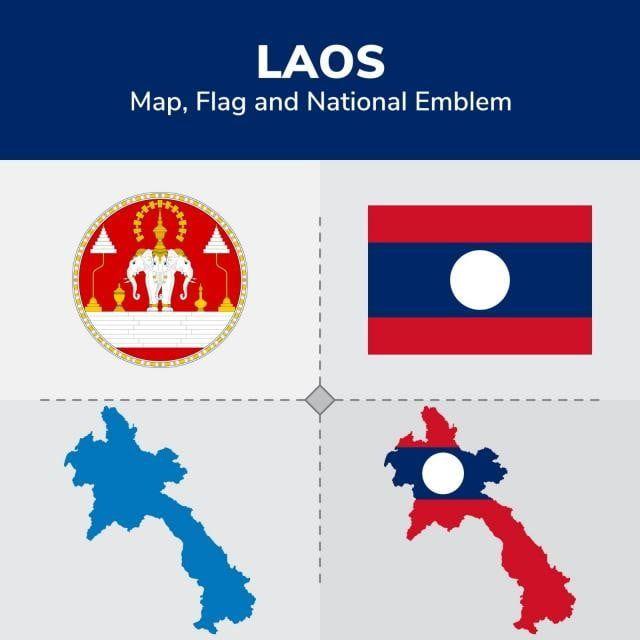 แผนท ธงและส ญล กษณ แห งชาต ลาว ธง ธงชาต อเมร กา แผนท