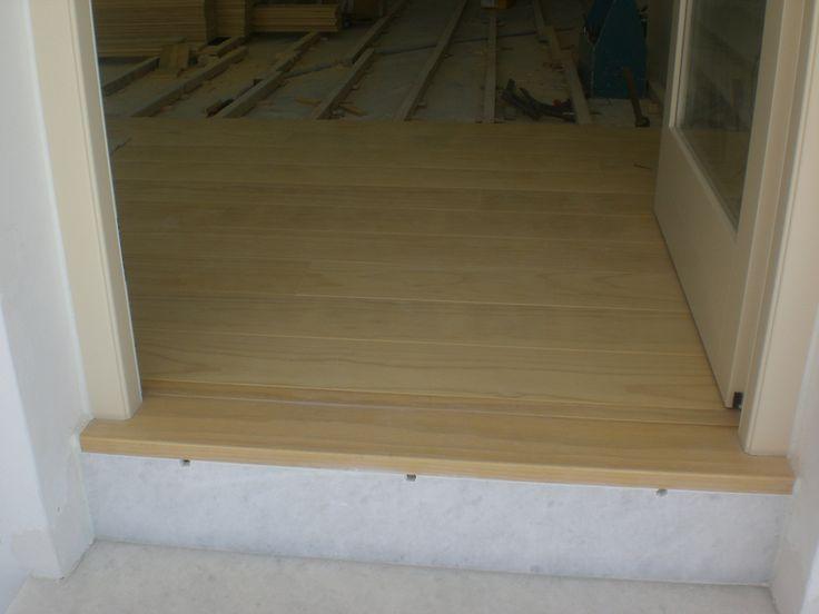 Ξύλινο πάτωμα στο εσωτερικό μαγαζιού | Interior floor | Antonis Kritikoswood | Accoya