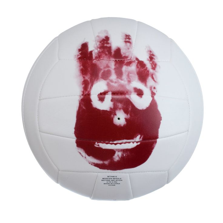 As long as it's a copy of Tom's print, I WANT IT!!  Wilson Cast Away Volleyball | Wilson Volleyball