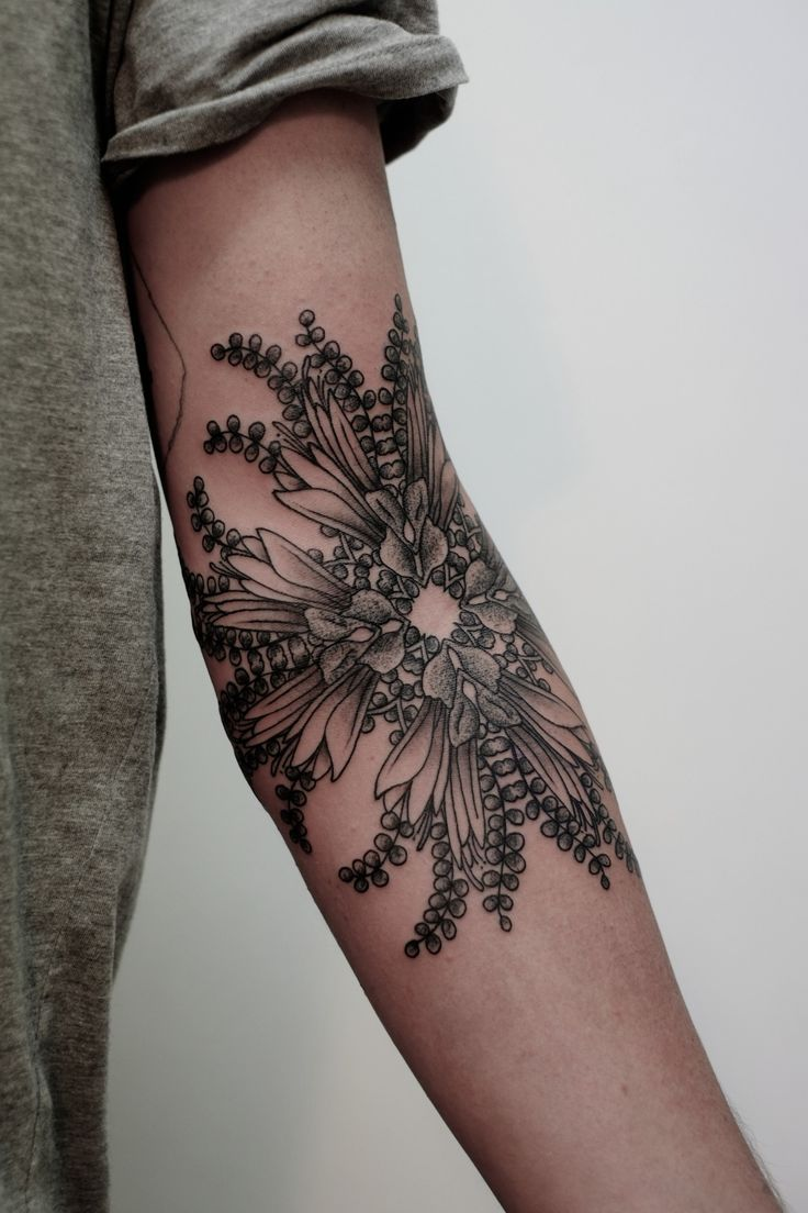 arm tattoo: