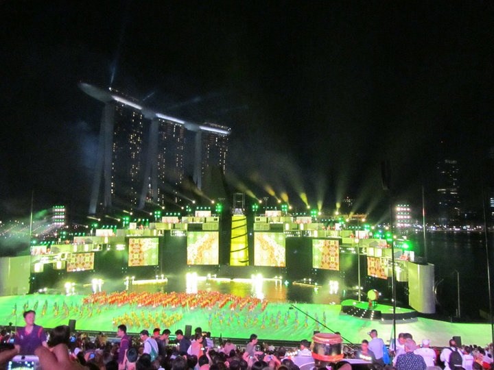 Stunning #Singapore - WIT attends the inaugural Youth #Olympic Games Games Opening ceremony #webintravel