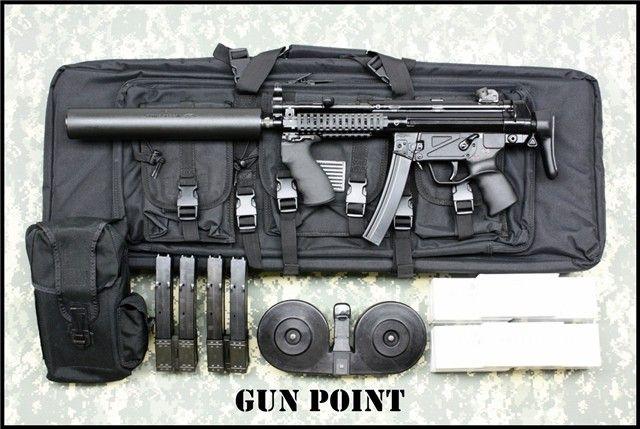 "HK MP5 Submachine Gun   HK MP5 ""BLACK 9"" SUBMACHINE GUN - AV Guns - Gun Point USA - POF-USA ..."