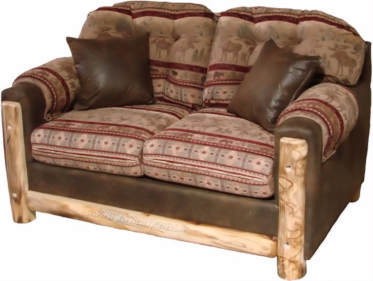Rustic Log Furniture | ... , but forever comfortable rustic log furniture and accessories