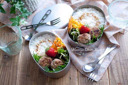 豚ごぼうつくねボールのお弁当。 |あ~るママオフィシャルブログ「毎日がお弁当日和♪」Powered by Ameba
