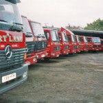 Martlands Skip Hire fleet serving Burscough, Ormskirk, Chorley & West Lancs.