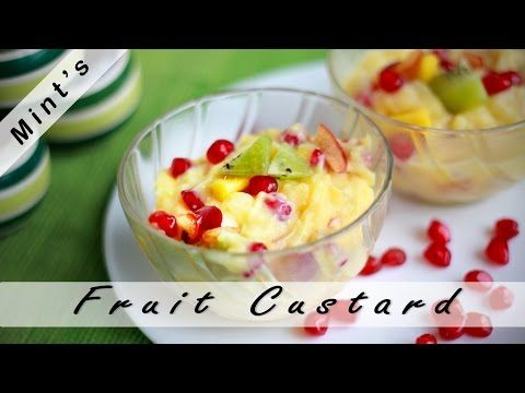 Fruit Salad Custard Recipe in Hindi - Indian Dessert Recipes - Custard Fruit Salad Recipe Ep-78 - http://2lazy4cook.com/fruit-salad-custard-recipe-in-hindi-indian-dessert-recipes-custard-fruit-salad-recipe-ep-78/