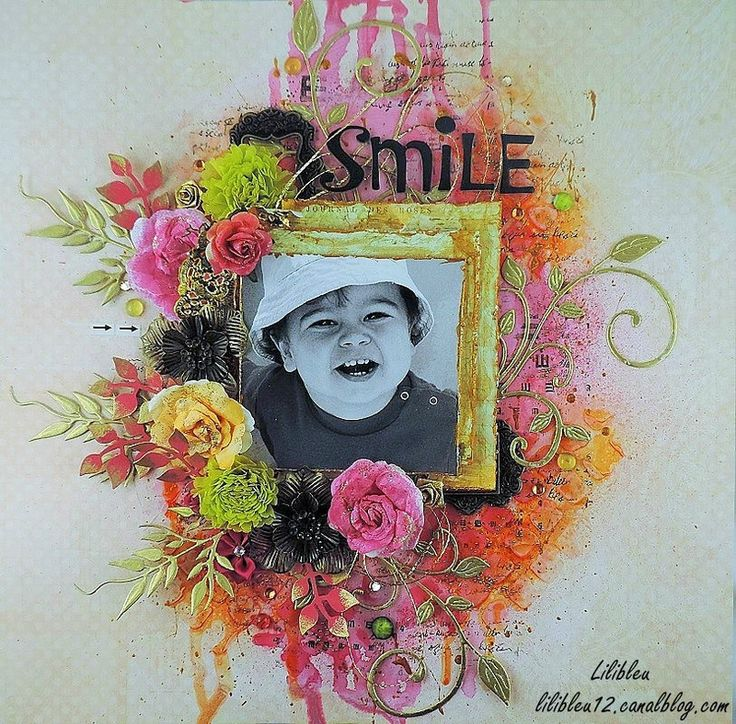 By Lilibleu - Lydie Denis for December 2015 moodboard at Scrap Around The World. #moodboard #mixedmedia #mixedmedialayout #scrapbooking #scraparoundtheworld #scrapbookingchallenge #layout #satw #pinkandgold #colourfullayouts #mixedmediascrapbooking  5