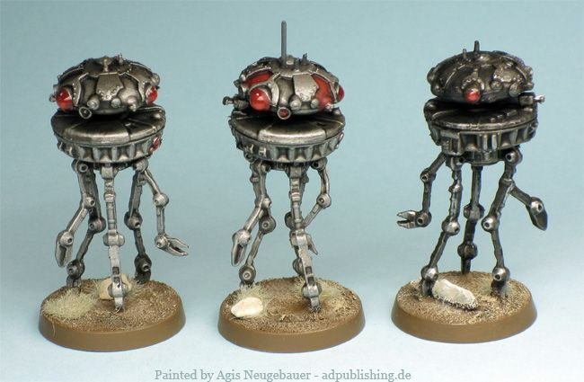 Star Wars Imperial Assault - Probe Droids painted by Agis
