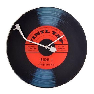 Duvar Saati Vinyl Tap Plak - 149 TL l #saat #plak #tarz