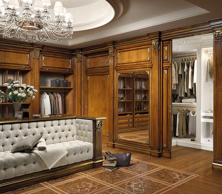 Le cabine armadio in legno massello Firenze: opere d'arte dell'artigianato Prestige | Prestige Mobili