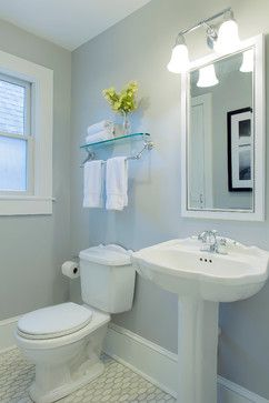 Cape Cod Beach House Remodel - traditional - bathroom - boston - Hammond Design