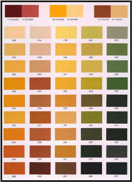 Stucco Colors Chart Color Charts New House Color