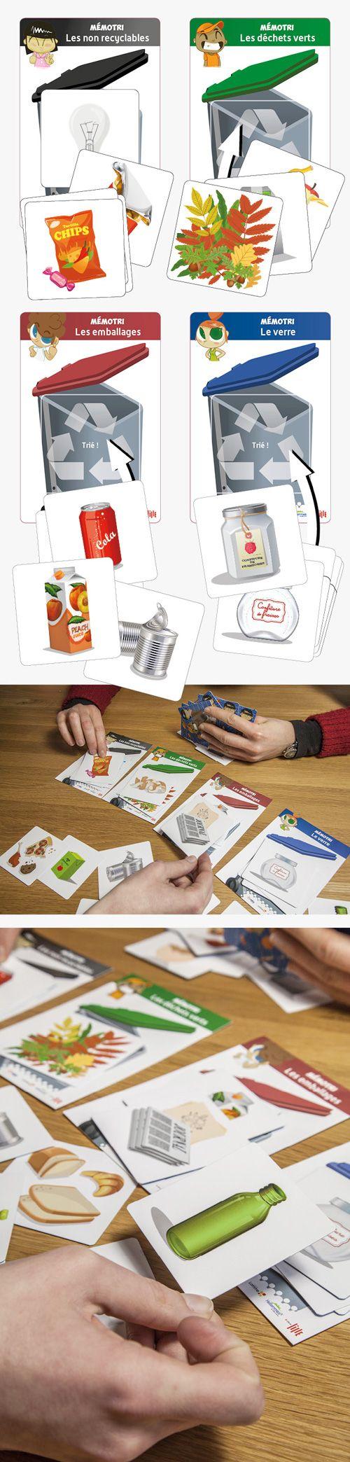 Ville de Lille / Dalkia : jeu pédagogique de sensibilisation au tri des déchets pour l'école de la forêt de Phalempin © Sous Tous les Angles