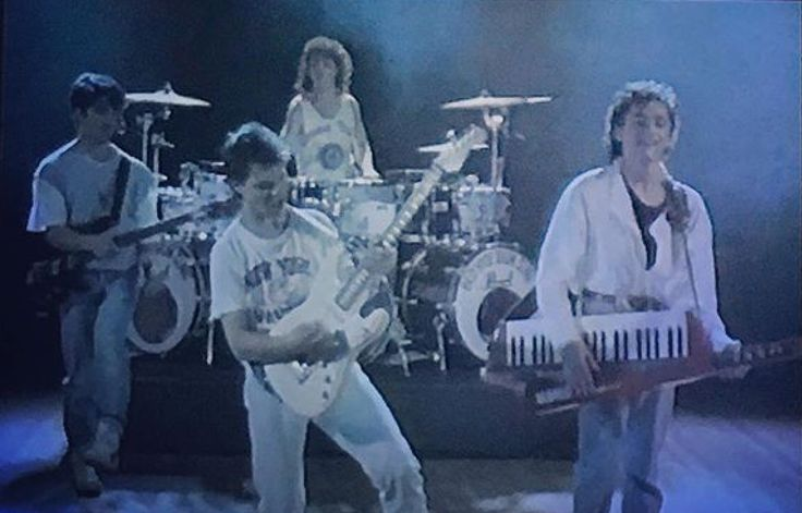 Funky Town Video Still 1986