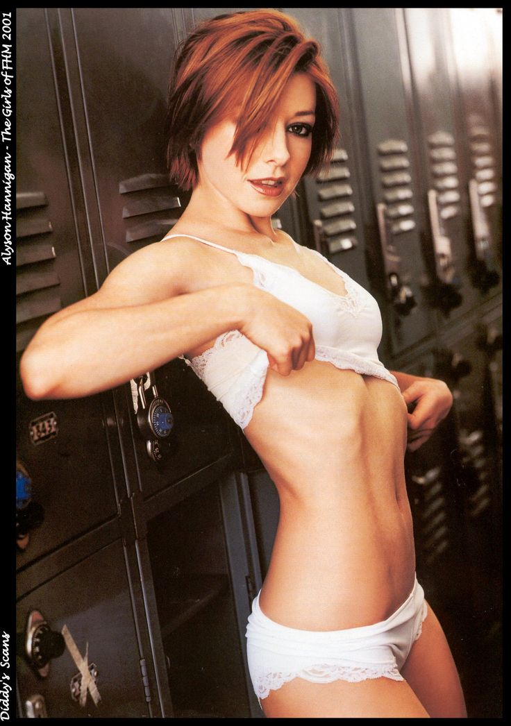 This one time at band camp Alyson Hannigan and I......Well yeah you know the rest *-*