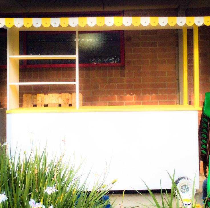 Lemonade cart painted - signage still to come by www.imprintables.com.au