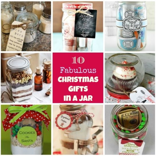 11 best 10 fabulous homemade christmas gifts in a jar for Edible christmas gifts to make in advance