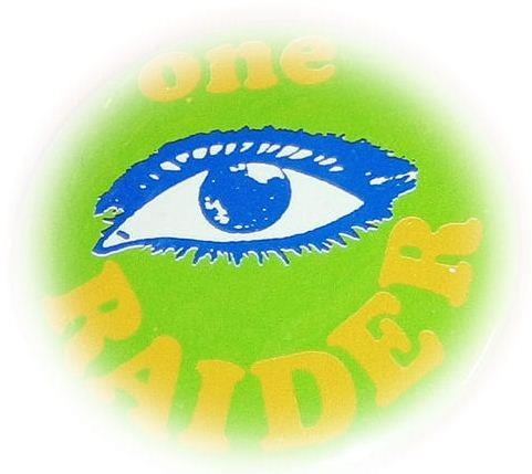 Canberra Raiders fans... Green eyed and one eyed.