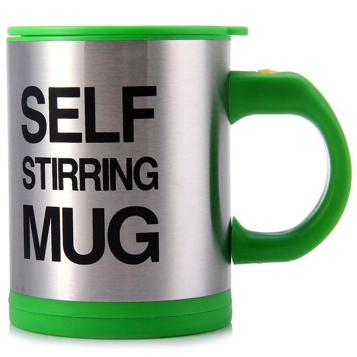 400 ML Self Stirring Coffee Cup Mugs Double Insulated Coffee Mug Automatic Electric Coffee Cups Smart Mugs Mixing Coffee Cup