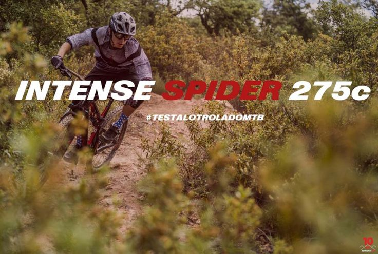 Intense Spider 275 C - All Mountain Esta Trail cuenta con cuadro de carbono, suspensiones Fox,  amortiguador ajustable en 115 mm a 130 mm , Boost 148 x 12