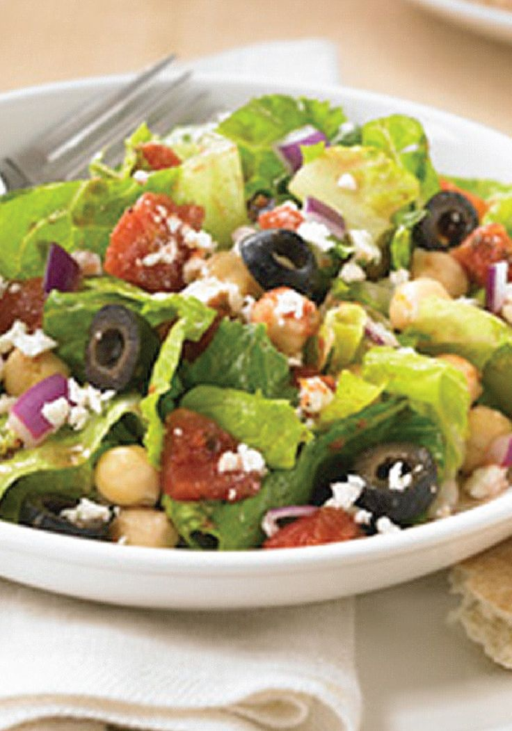 Chopped Mediterranean Salad Recipe Food Recipes Salad