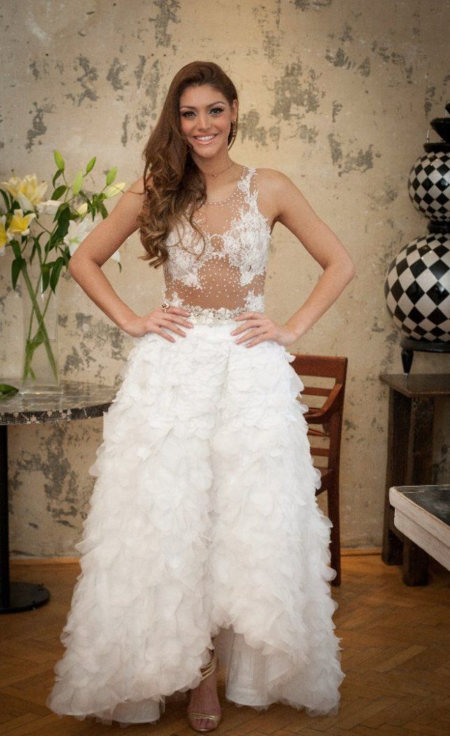 Kulcsár Edina a 2014-es Miss World versenyen lett első udvarhölgy