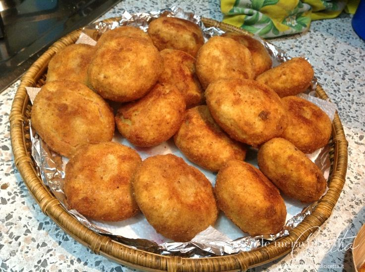 Crocchette patate e prosciutto