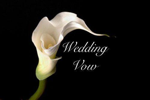 30 Funny Wedding Vows